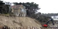 «Les dommages liés à l'érosion du littoral seront plus fréquents et plus élevés»