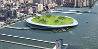 Green Loop, des composteurs flottants à New York