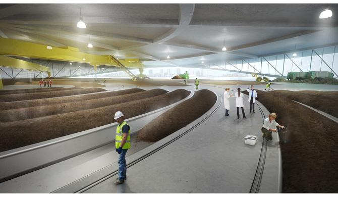 Intérieur Green Loop - PRESENT Architecture