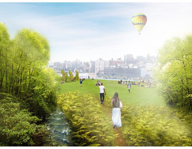 Jardin Green Loop - PRESENT Architecture
