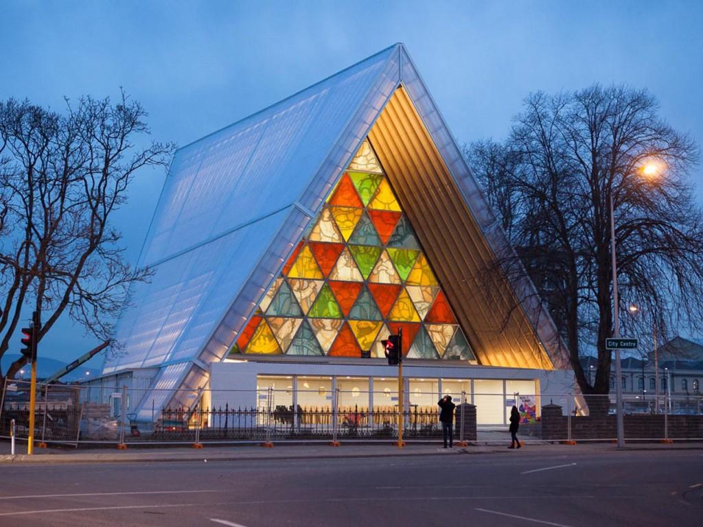 Christchurch Cardboard Cathedral - Christchurch, New Zealand - Shigeru Ban