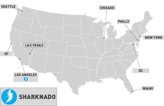 Sharknado - The Concourse