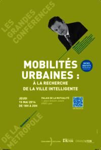 Affiche de la prochaine grande conférence de la métropole du Grand Lyon. Crédit photo: Millénaire 3