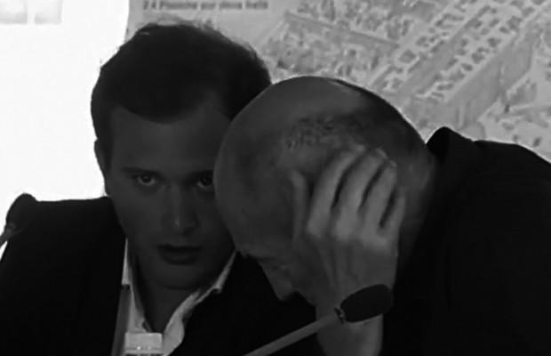 Clément Blanchet et Rem Koolhas [OMA] en pleine réflexion