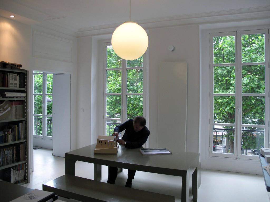 Première image des nouveaux locaux de Clément Blanchet Architecture