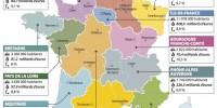 La nouvelle carte des régions fait des heureux et des malheureux