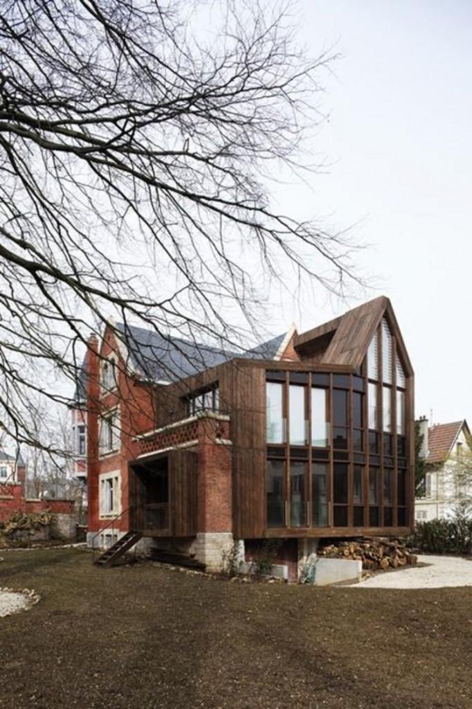les maisons d architectes par la grande porte urbanews. Black Bedroom Furniture Sets. Home Design Ideas