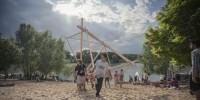 800 étudiants créent une ville flottante le temps d'un week-end