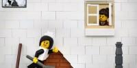 Bricksy : les œuvres de Banksy version Lego