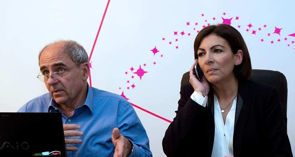 Jean-Louis Missika et Anne Hidalgo