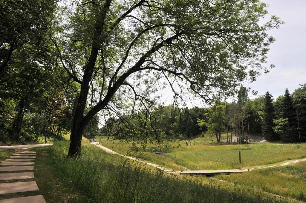 Parc du Vallon - Lyon - La Duchère - © Dufresne