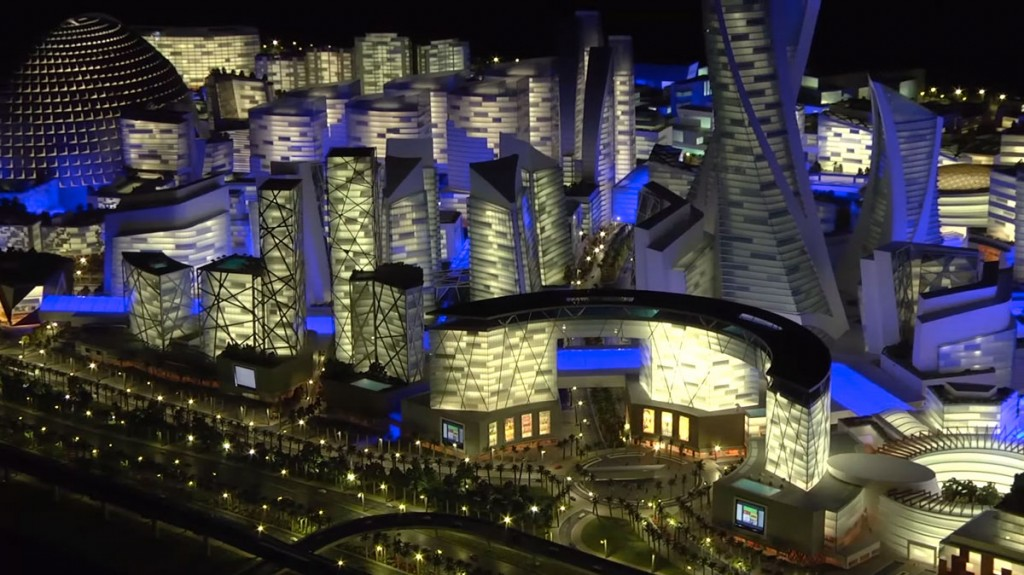Mall of the World by night (crédits image : Dubaï Holding)