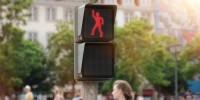 Clip of Friday : Dancing Traffic Light