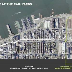 """Le dernier tronçon """"sauvage"""" de la High Line"""