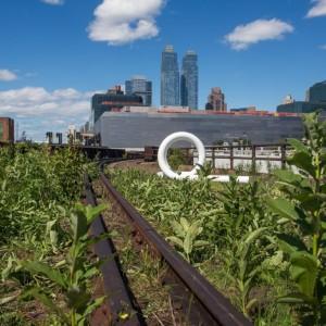 """Le dernier tronçon """"sauvage"""" de la High Line - Sam Horine - Gothamist"""
