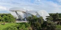 La Fondation Louis Vuitton flotte sur le Bois de Boulogne