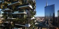 À Milan, un hectare de forêt planté sur deux tours