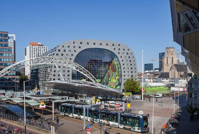 Markhtal - La dernière folie architecturale de Rotterdam - MVRDV