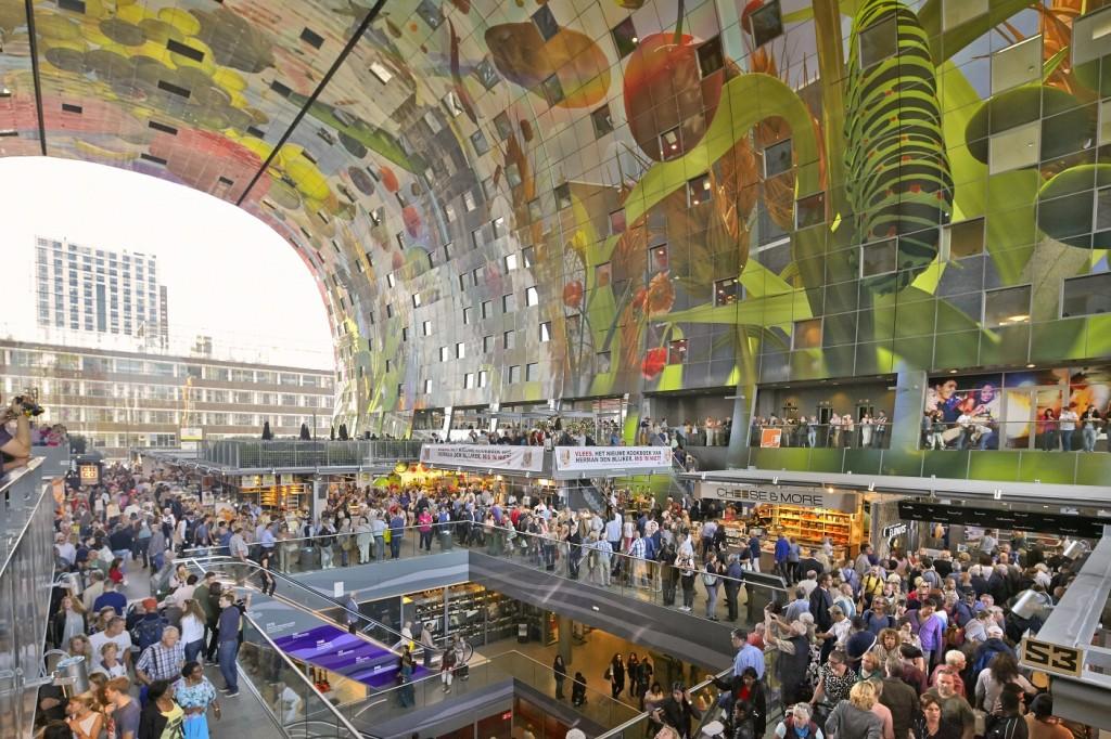 Markhtal - La dernière folie architecturale de Rotterdam - MVRDV - © vismagazine