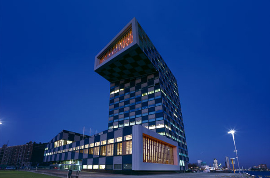 Shipping and Transport College - Rotterdam - Neutelings Riedijk Architects