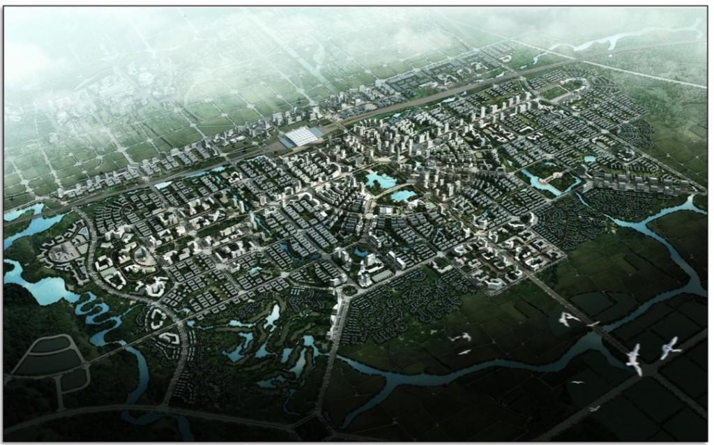 En Chine, créer une ville « durable » de 117 km² en seulement 3 mois…