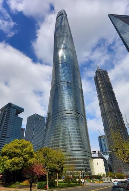 La Tour de Shanghai, deuxième tour la plus haute du monde, ouvrira prochainement ses portes / © Paul Brown - REX Schutters - REX - SIPA