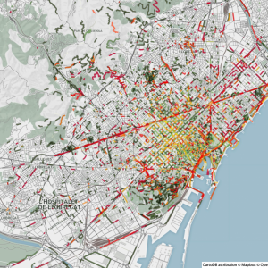 Odeurs de Nature + Emissions - Barcelone - Smelly Maps