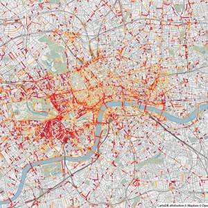 Odeurs de carburant - Londres - Smelly Maps