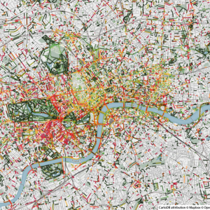 Carburant + Nature - Londres - Smelly Maps