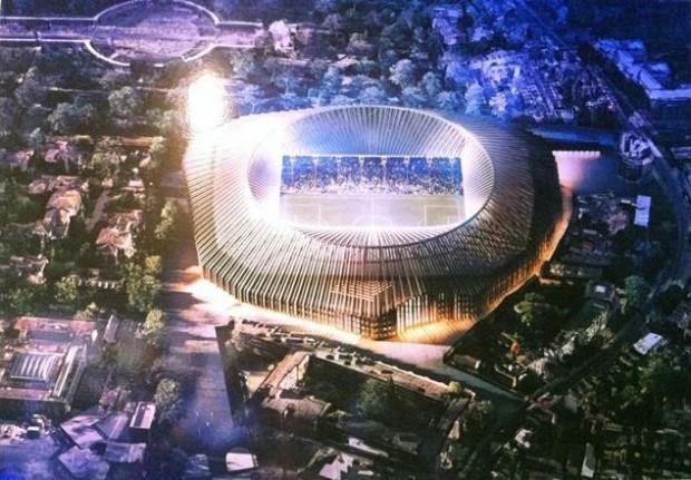 Demain, le Stamford Bridge pourrait ressembler à ça © Herzog & de Meuron
