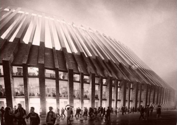 La structure remarquable du projet du Stamford Bridge / © Herzog & de Meuron