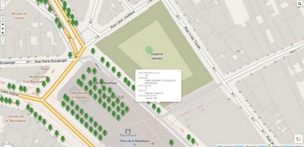 A Paris, les arbres fichés pour une gestion simplifiée - SIG Ville de Paris