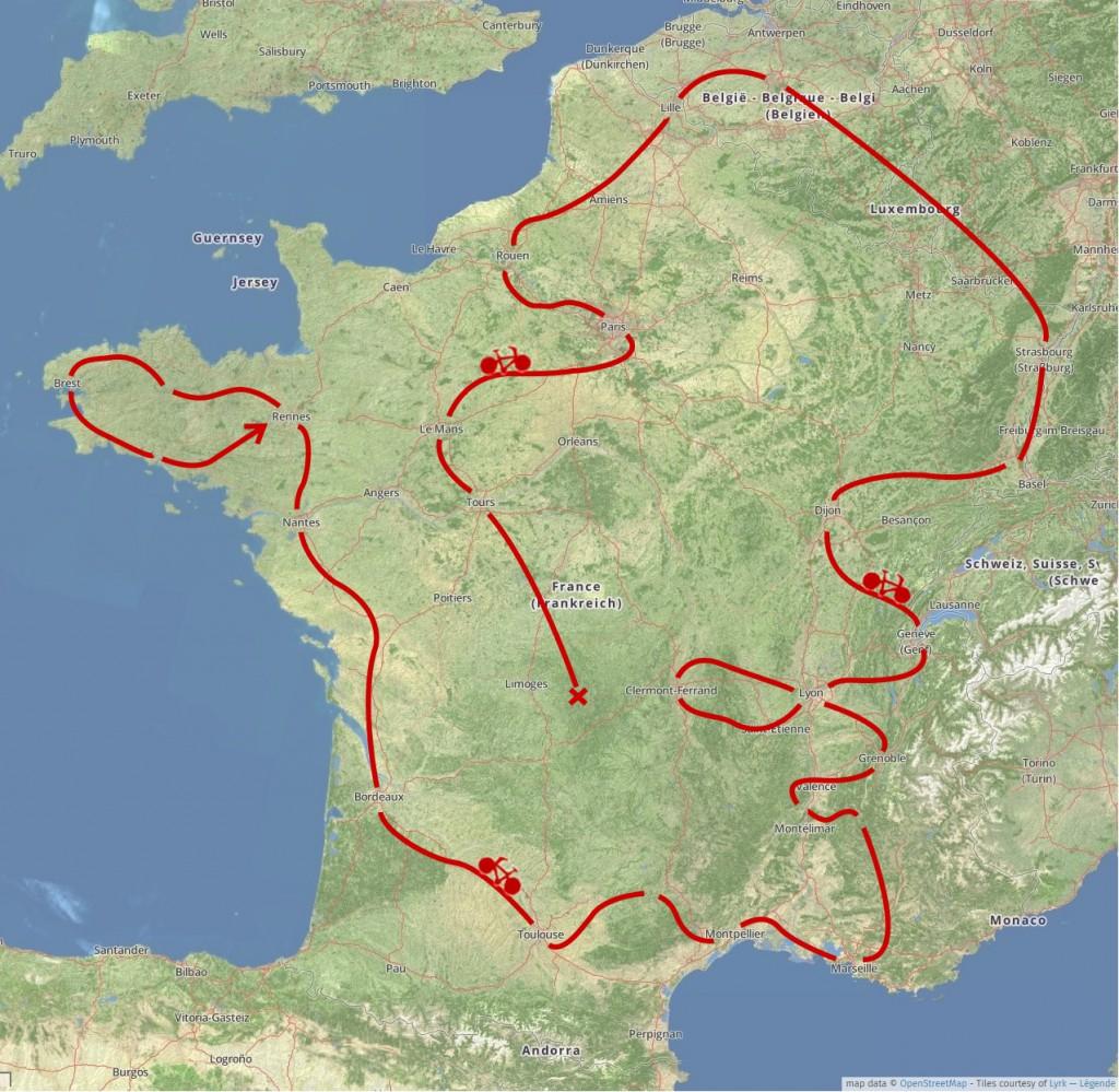 Tour de France des initiatives autogérées | Source : Espaces Possibles