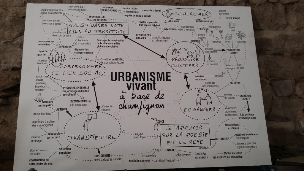 Agriculture urbaine dans le quartier de Fives, à Lille et aide à l'auto-construction de mobilier à Roubaix, par Les Sarophytes
