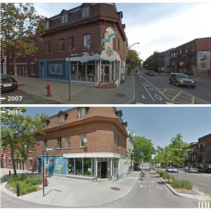Rue Rachel E Montreal, Canada