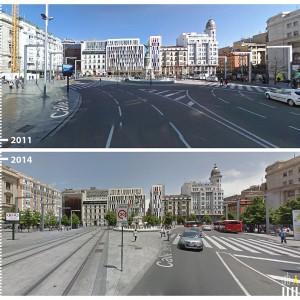 Plaza España, Zaragoza, Spain