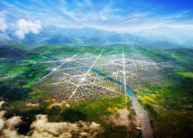 Une ville, par delà la frontière, par delà le Rio Grande / © fr-ee.org