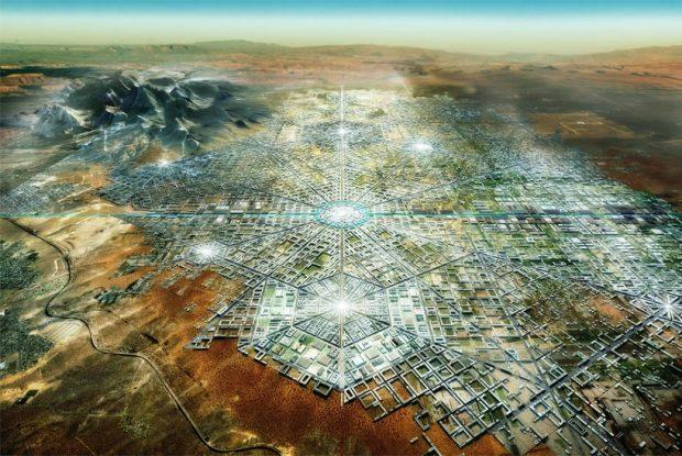 """""""Binational Megacity"""", un projet de ville nouvelle transfrontalière / © fr-ee.org"""