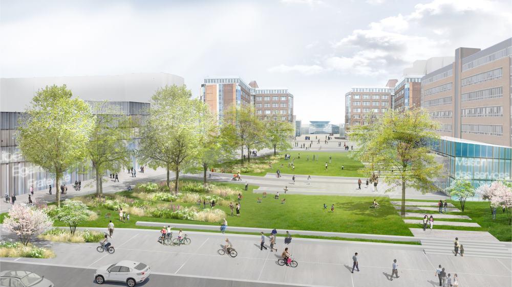 grand angle nouveau centre pour ville nouvelle urbanews. Black Bedroom Furniture Sets. Home Design Ideas