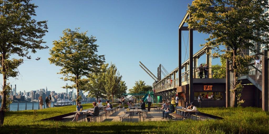 Domino Sugar Factory - Brooklyn - SHoP Architects - James Corner - Crédits www.mir.no