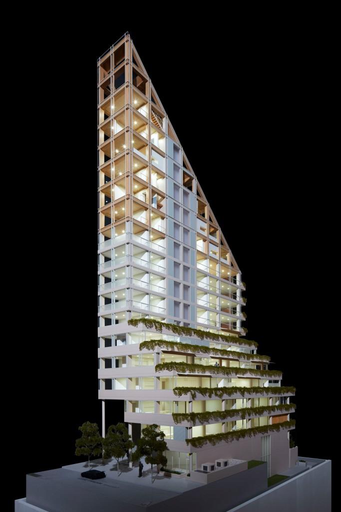 shigeru ban impulse la structure hybride en architecture urbanews. Black Bedroom Furniture Sets. Home Design Ideas
