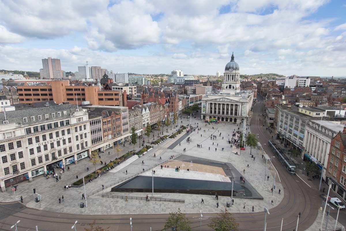 Old Market Square, Nottingham - Gustafson Porter + Bowman