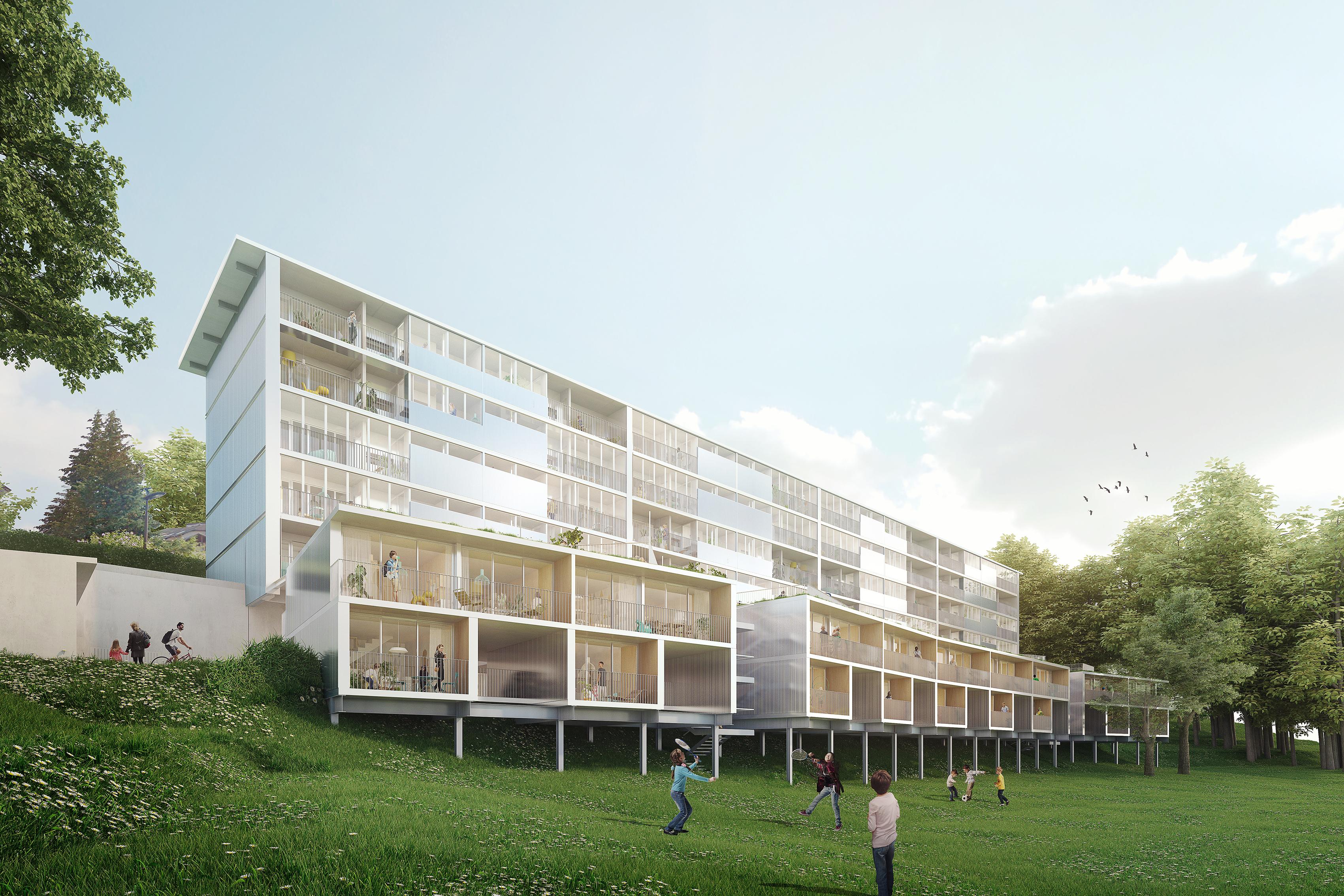 Annecy - Meythet - Les Myrtilles - MixCité'2017 - CAUE 74 - THINK TANK Architecture