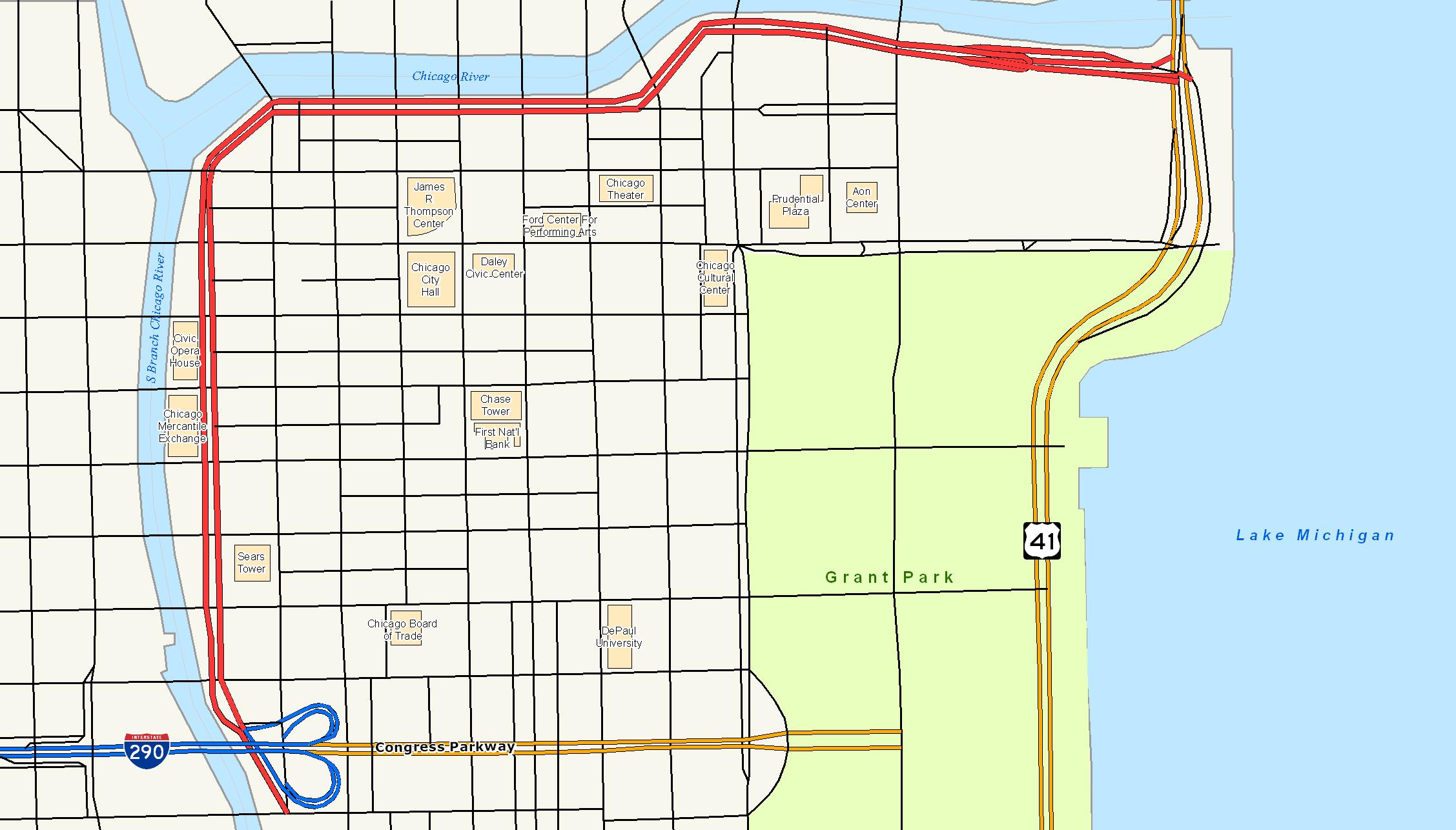 Wacker Drive - Chicago