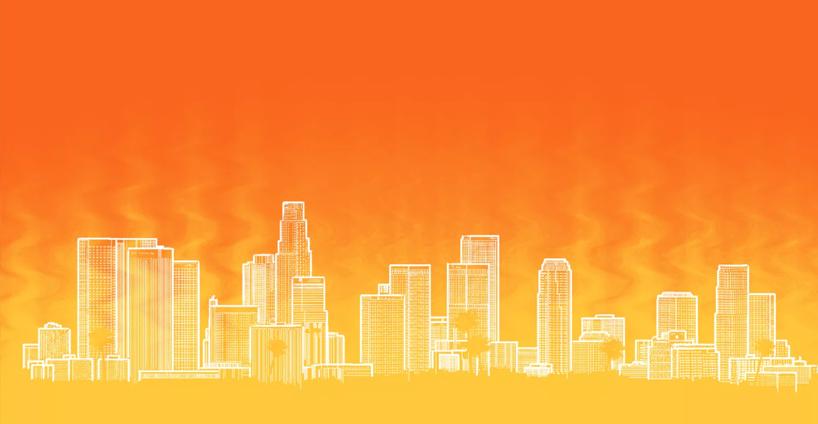 Los Angeles cherche des solutions pour faire face à ce phénomène de réchauffement