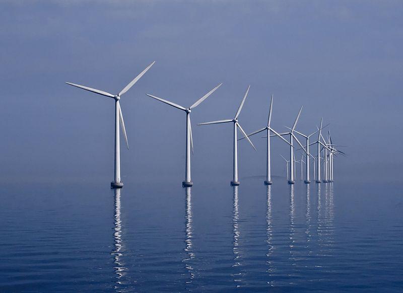 Middelgrunden Wind Farm - Danemark