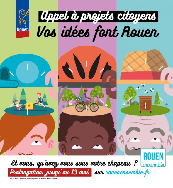 Appel à projet Citoyen - Rouen