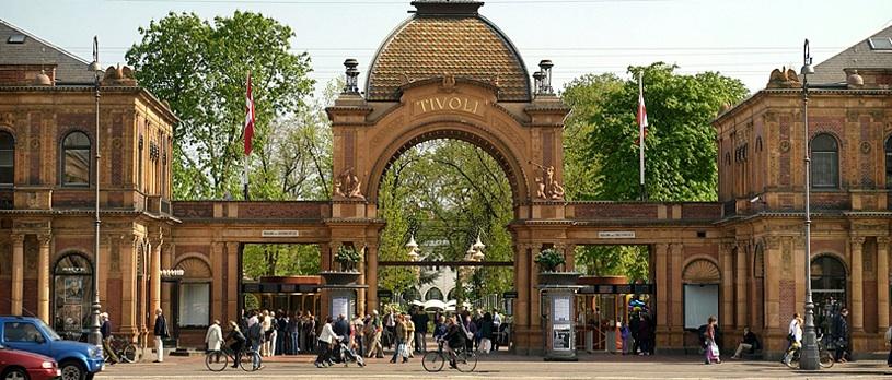 Parc Tivoli - Copenhague