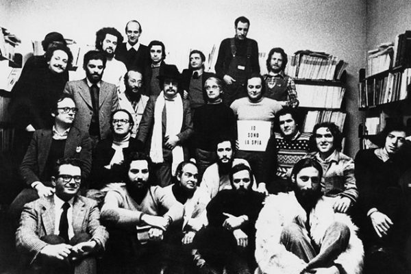 Global Tools, Editorial offices of Casabella, 12th January 1973. Photo by Carlo Bachi, Archive Casabella; image via SALT