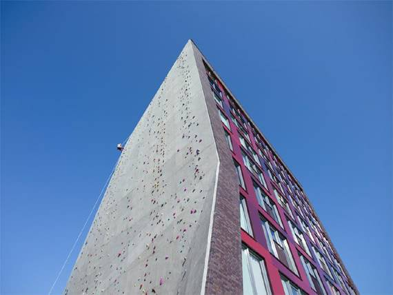 L'architecture peut également laisser plus de place aux jeux ! - Arons & Gelauff Architecten: Dormitory, Enschede – Netherlands (2007)